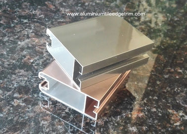 Durable Aluminium Door Frame Profile With Electrophoresis Surface treatment